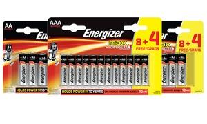Packs piles Energizer Max AA/AAA
