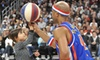 Harlem Globetrotters **NAT** - Multiple Locations: Harlem Globetrotters Game on Sunday, February 17, or Monday, February 18 (Up to 41% Off). Four Options Available.