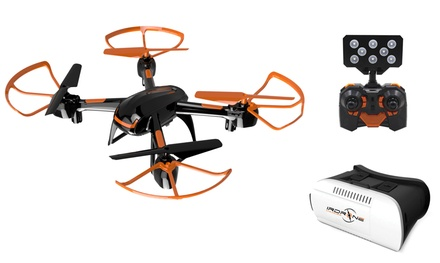 IrDrone Ghost Virtual Reality Vision Drone with VR Glasses With Free Delivery