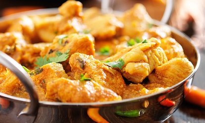 Two-Course Indian Meal with Glass of Wine for Two or Four at Last Monsoon Indian Restaurant (Up to 65% Off)