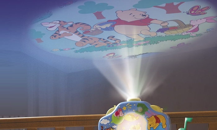 Veilleuse musicale winnie disney groupon - Veilleuse musicale projection plafond ...