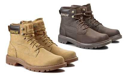 d3c4fa0b8a651 Acheter sur Groupon Boots Caterpillar en cuir Homme