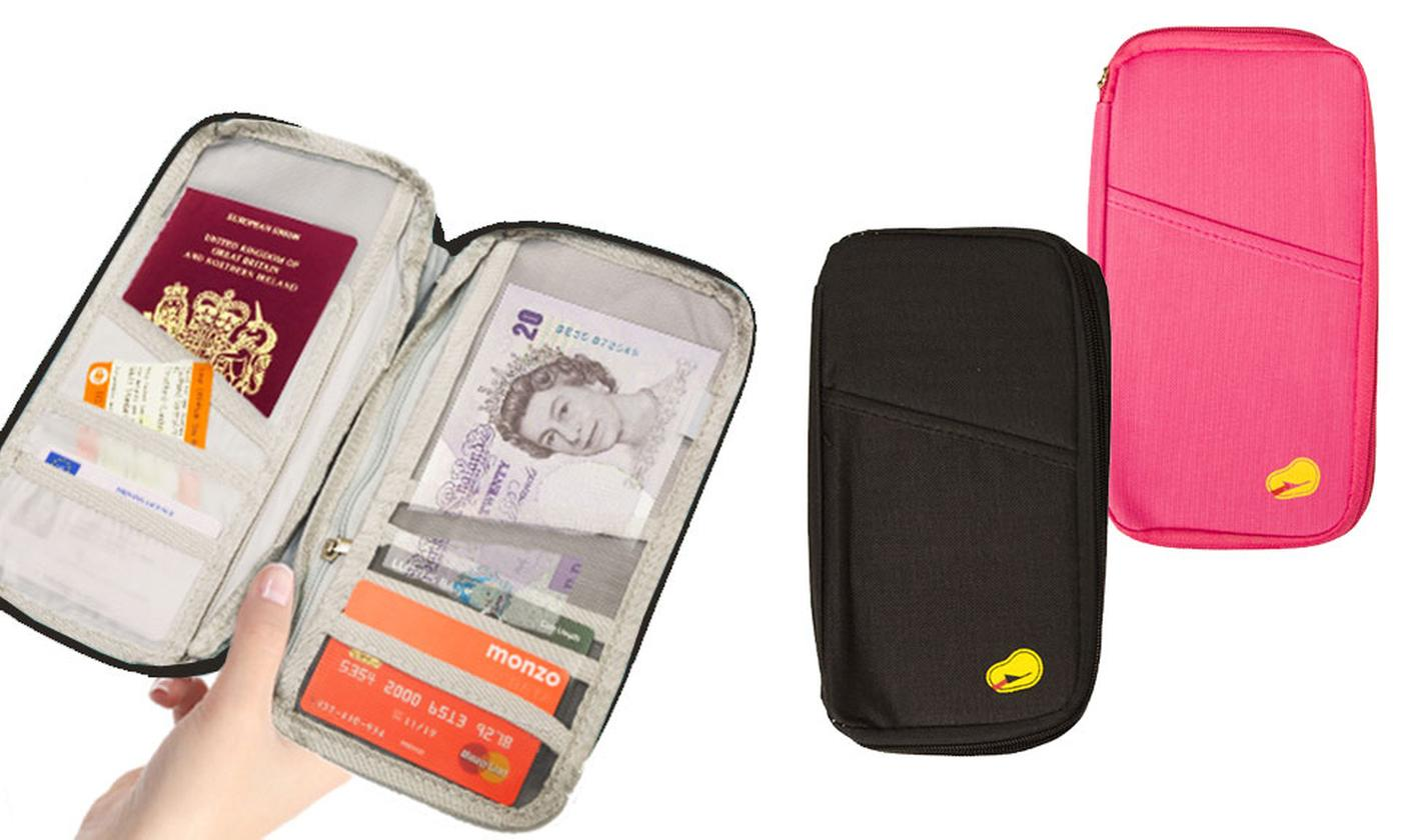 One or Two Travel Document and Passport Organisers
