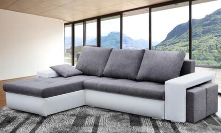 canap d t convertible scandinave avec ses coussins helly de la marque bobodeco deals et. Black Bedroom Furniture Sets. Home Design Ideas