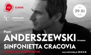 Piotr Anderszewski i orkiestra Sinfonietta Cracovia: Od 50 zł: bilety na koncert Piotra Anderszewskiego i orkiestry Sinfonietta Cracovia w ICE Kraków (do -48%)