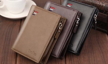 1 o 2 billeteras con protección RFID