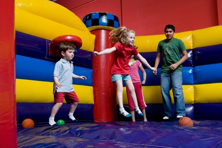 Three, Five, or Eight Open Play Sessions at FunFlatables (Up to 46% Off)