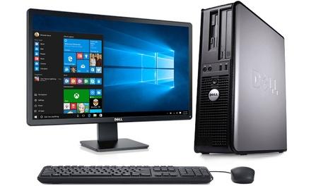 Refurbished Dell OptiPlex Desktop 745/755 with Optional 19