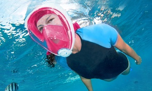 Full Face GoPro-Compatible Snorkel Mask