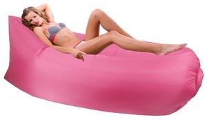 Inflatable Aero Banana-Style Sofa at Inflatable Aero Banana-Style Sofa, plus 9.0% Cash Back from Ebates.