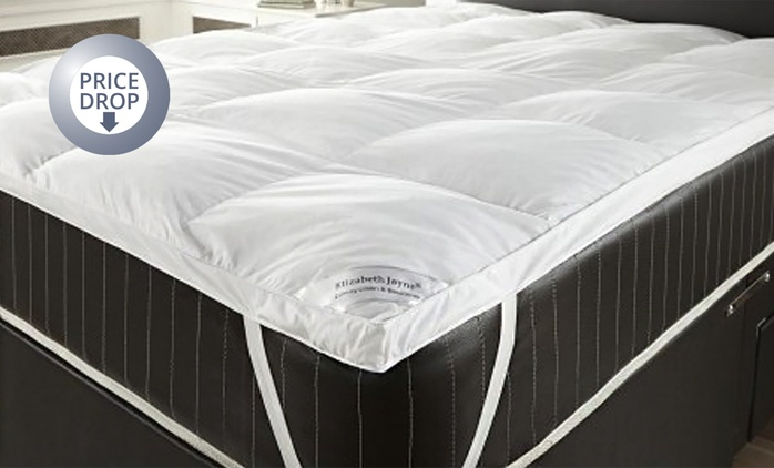 Goose Feather and Down Pillows (for £11.98) or Mattress Topper (from £17.99) or One Set (from £28.98) (Up to 73% Off)