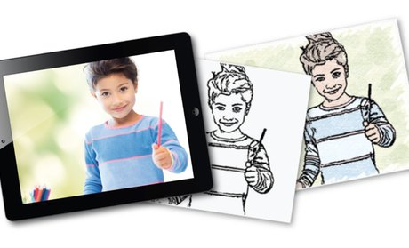 Photos to Coloring Pages (67% Off) and Coloring Books