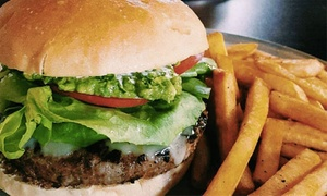 Burgertown: Burgers for Two or Four at Burgertown (Up to 40% Off)