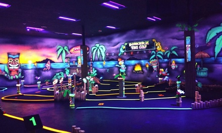 One Round of Mini Golf and One Laser Tag Game for Two or Four at Bonkerz Family Fun Center (Up to 50% Off)