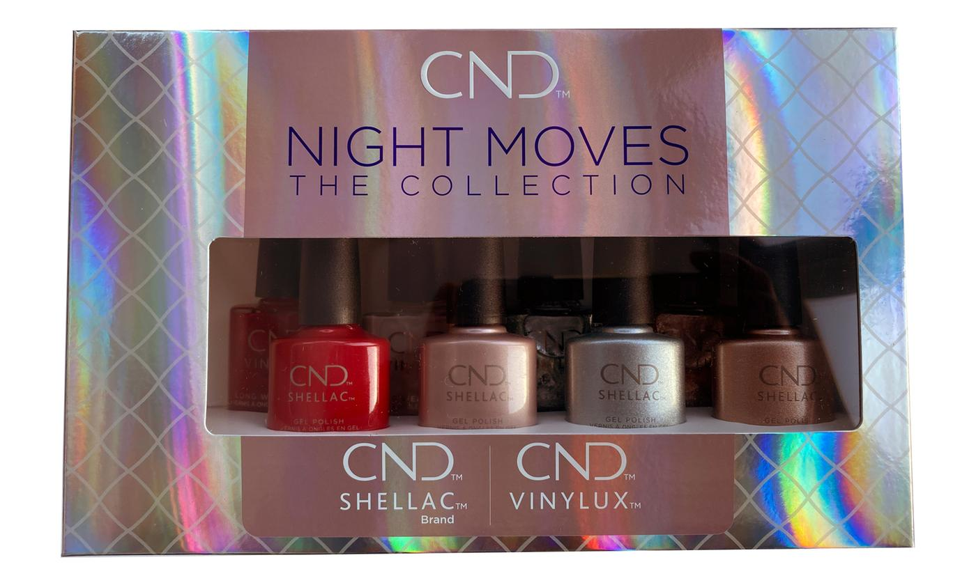 Shellac CND Night Moves Set of Eight Nail Polishes