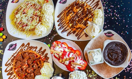 Choice of Dessert with Frappe or Milkshake for Up to Four at Kaspas Desserts, Cheltenham