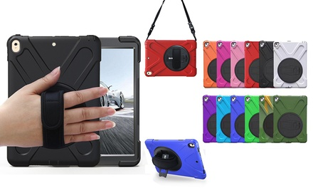 From $19.95 for a Shockproof Armour Case with Stand, Shoulder Strap and Handle for iPad