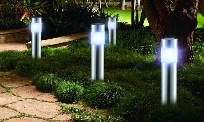 Led Lampjes Tuin : Led tuinverlichting groupon