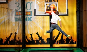 Jump Passes for Two, Four, or Six People or a Birthday Party for Up to 10 Kids at Rockin' Jump (Up to 50% Off)
