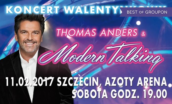 Bilet na koncert Thomasa Andersa i Modern Talking Band za 109 zł w hali Azoty Arena (zamiast 159 zł)