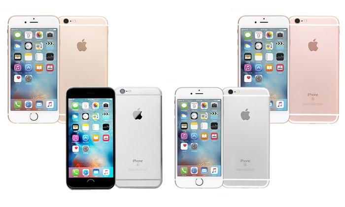 apple iphone 6 6s or 6 plus 6s plus gsm unlocked refurb. Black Bedroom Furniture Sets. Home Design Ideas
