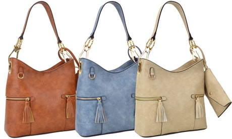 MMK Collection by Toska Handbag and Envelope Wallet Set af56e97a-351d-4adb-a4a7-c4fcc7ca03f7