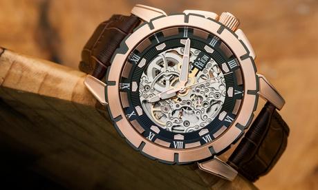 Reloj automático Reign Philippe para hombre