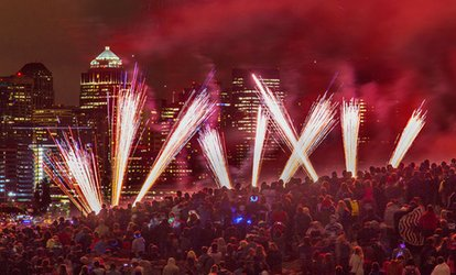 image for $30 for Gas Works Park East Reserved Seating for One at Seafair Summer 4th Fireworks Show ($47.20 Value)