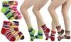 Women's Plush Thermal Knit Winter Socks (6-Pack): Women's Plush Thermal Knit Winter Socks (6-Pack)
