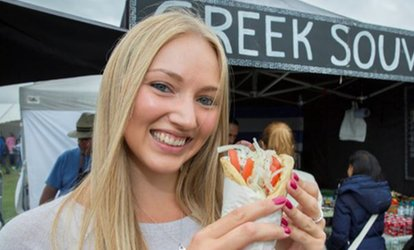 image for Foodies Festival, General Admission or VIP Tickets, 11 - 13 May at Durdham Downs (Up to 39% Off)