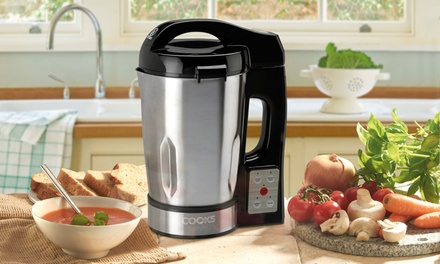 Cooks Professional Soup Maker with Glass Jug for £46.99 With Free Delivery (48% Off)