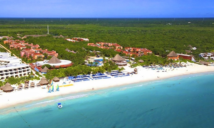 All inclusive catalonia playa maroma vacation with airfare for Round the world trips all inclusive