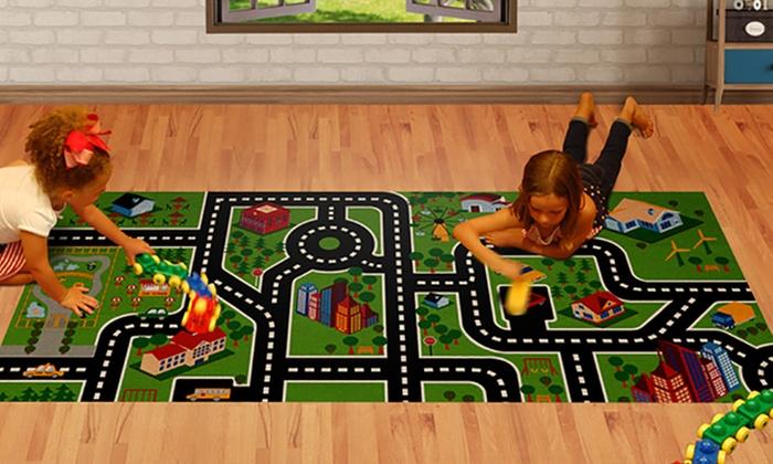 Kids Play Rug Groupon Goods