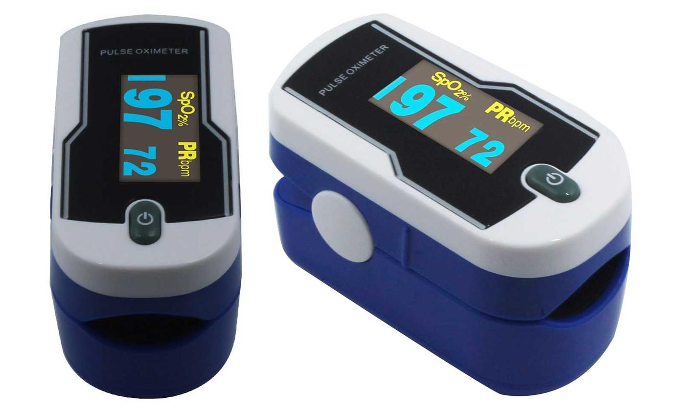 Concord Sapphire Fingertip Pulse Oximeter with 6-Way OLED Display