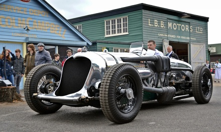 Brooklands Museum Entry for Up to Five
