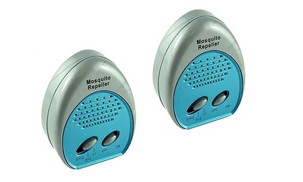 3 Frequency Electronic Mosquito Repeller (2-Pack)