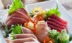 Sushi World: $12 for $20 Worth of Sushi and Japanese Cuisine for Two or More People at Sushi World