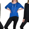 Free to Live High-Low Long-Sleeved Tunics
