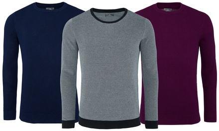 Set of Three Cotton Pullovers for €29 With Free Delivery (68% Off)