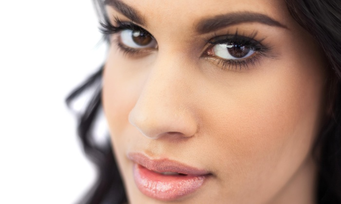 Flawless Faces - Los Cerritos: Full Set of Eyelash Extensions at Flawless Faces  (53% Off)