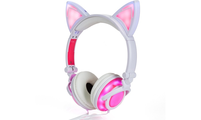 Groupon Com Cat Headphones