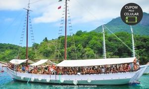 As Ilhas Turismo: As Ilhas Turismo – Glória: passeio de escuna para Ilha Grande ou Tour do Pôr do Sol com MPB