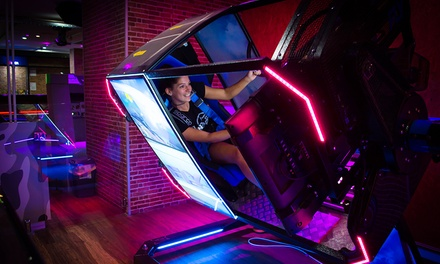 $15 credit to Spend on any Rides, Arcade Games, Virtual Reality Pods or Simulators at Fun360