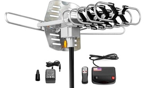 ViewTV Outdoor Amplified Digital TV Antenna with Wireless Remote