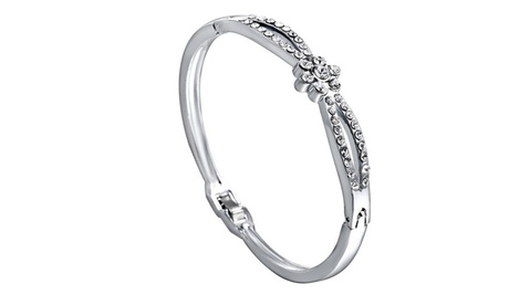 1 o 2 pulseras de cierre plegable adornadas con cristales de Swarovski® desde 9,99 €