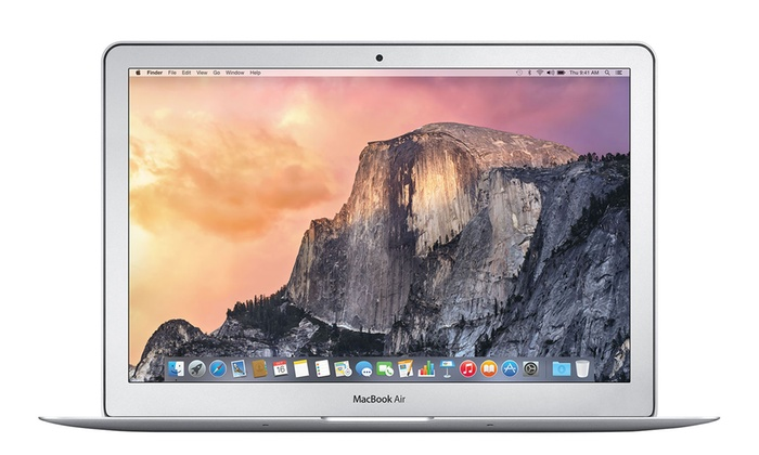 "Apple MacBook Air 13.3"" Laptop with Intel Core i5 Processor, 4GB RAM, and 128GB SSD (Refurbishe..."