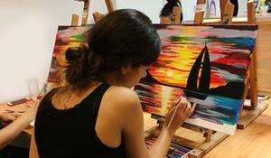 Paint It: 3 Std. Mal Event inkl. Materialien und Instruktor für 1 oder 2 Personen bei Paint It (bis zu 59% sparen*)