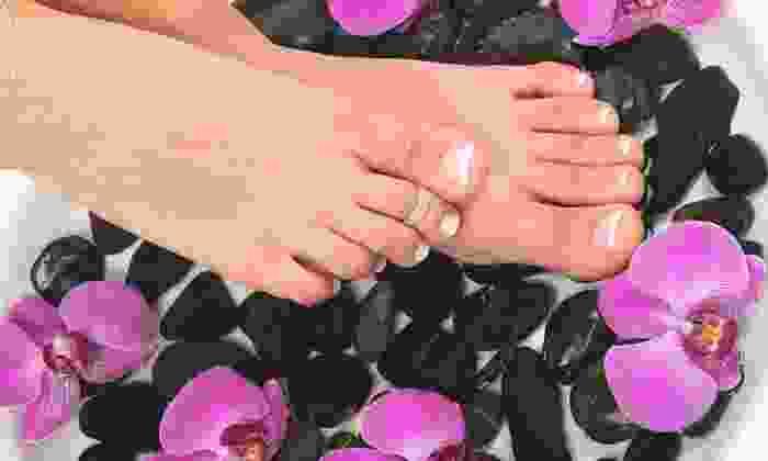 Fresh Nails & Spa - Perrysburg: Customized Pedicure or Eyebrow Threading at Fresh Nails & Spa (Half Off)