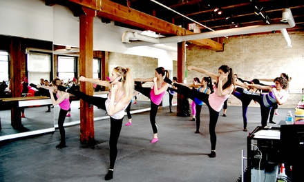 Three or Five Barre Classes at Barre Bee Fit (39% Off)