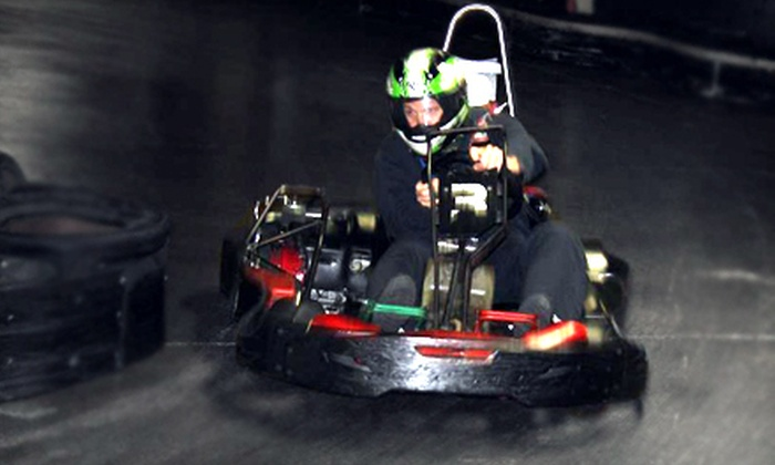 Traxx Indoor Raceway - Harbour Pointe: Annual Membership and Two Go-Kart Races for One, Two, or Four at Traxx Indoor Raceway in Mukilteo (Up to 60% Off)